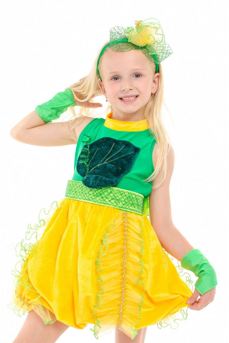 Масочка - «Дынька» карнавальный костюм для девочки / фото №1919