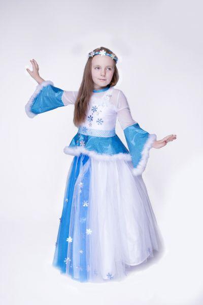 Снежинка «Зимняя канитель» карнавальный костюм для девочки