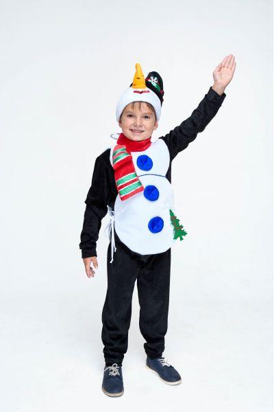 «Снеговик» карнавальный костюм для мальчика