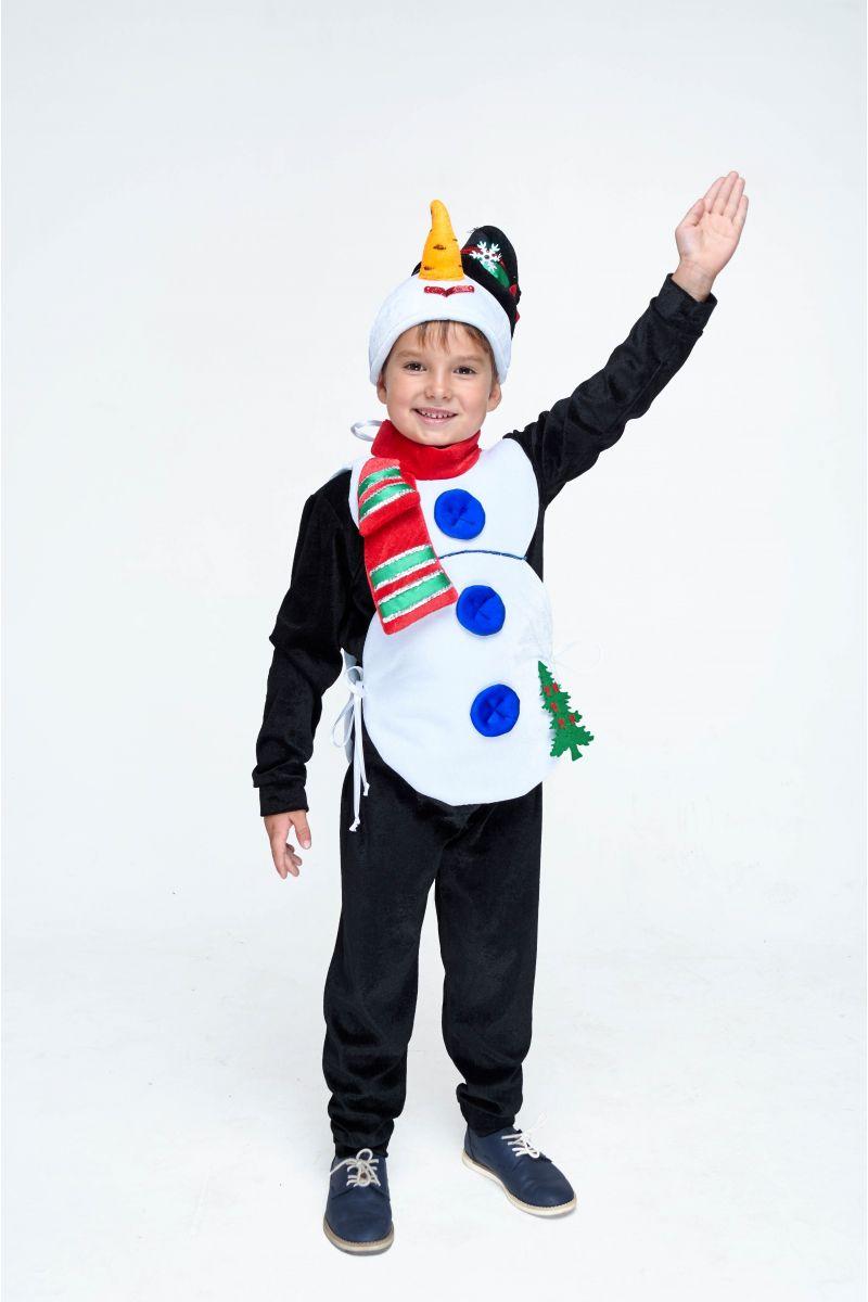 Масочка - «Снеговик» карнавальный костюм для мальчика / фото №1983