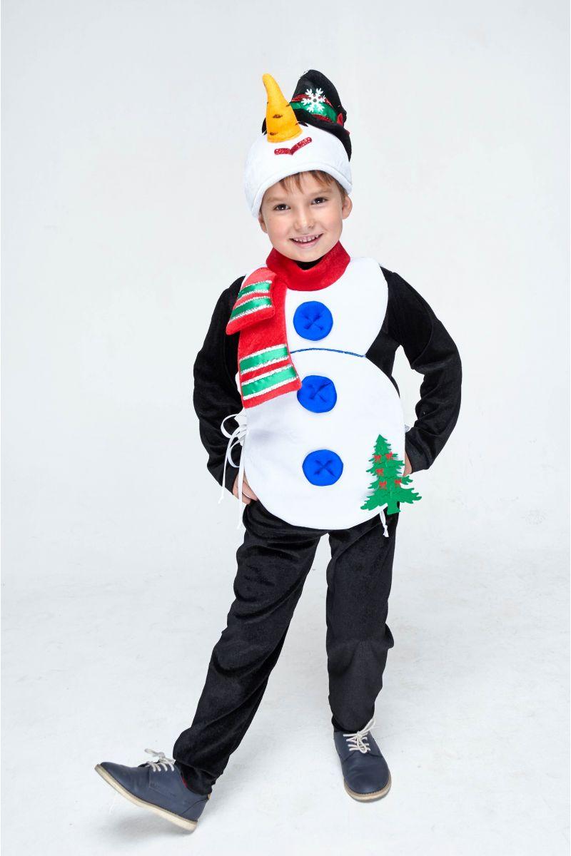 Масочка - «Снеговик» карнавальный костюм для мальчика / фото №1985