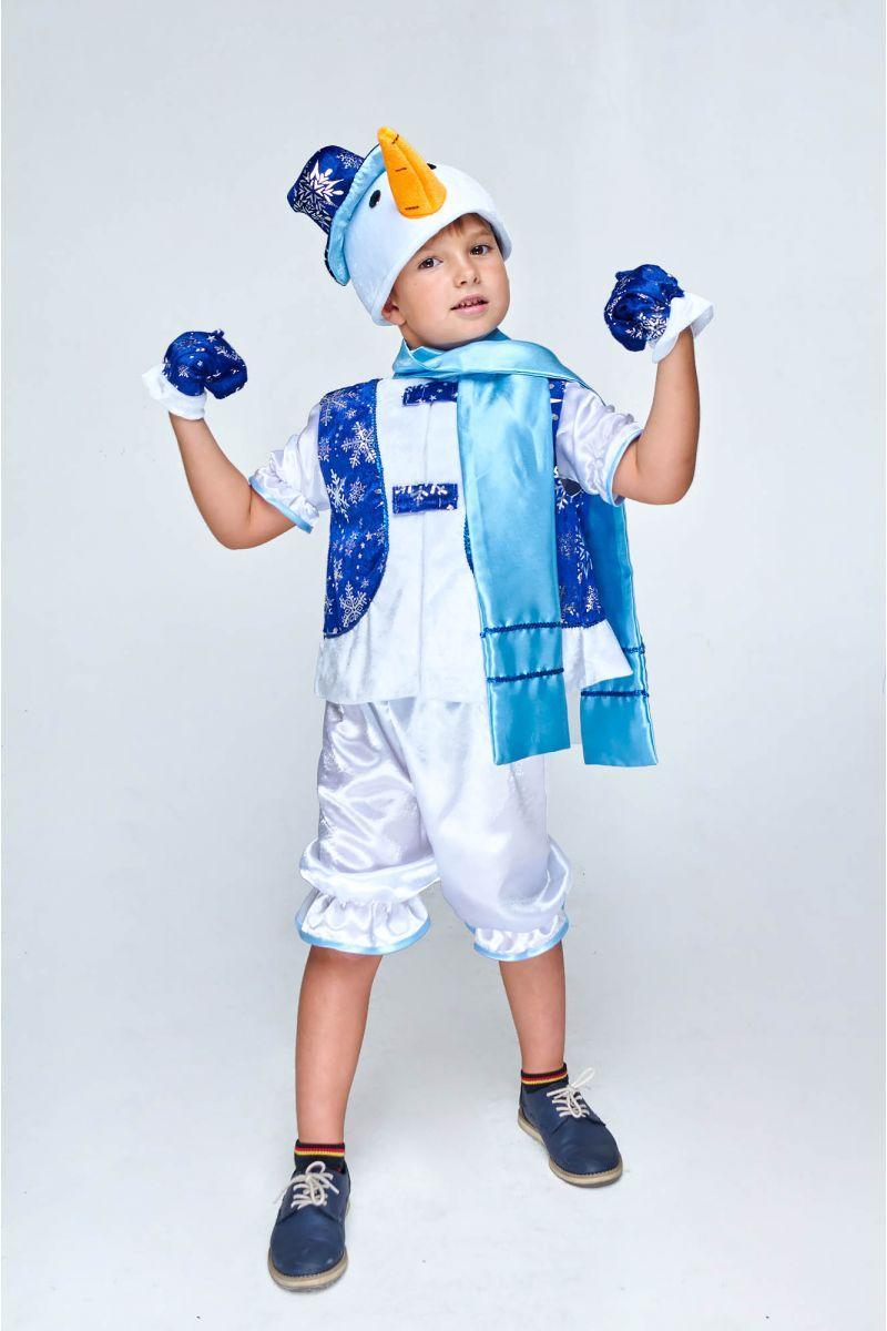 «Снеговик в жилете» карнавальный костюм для мальчика - Масочка - photo#48