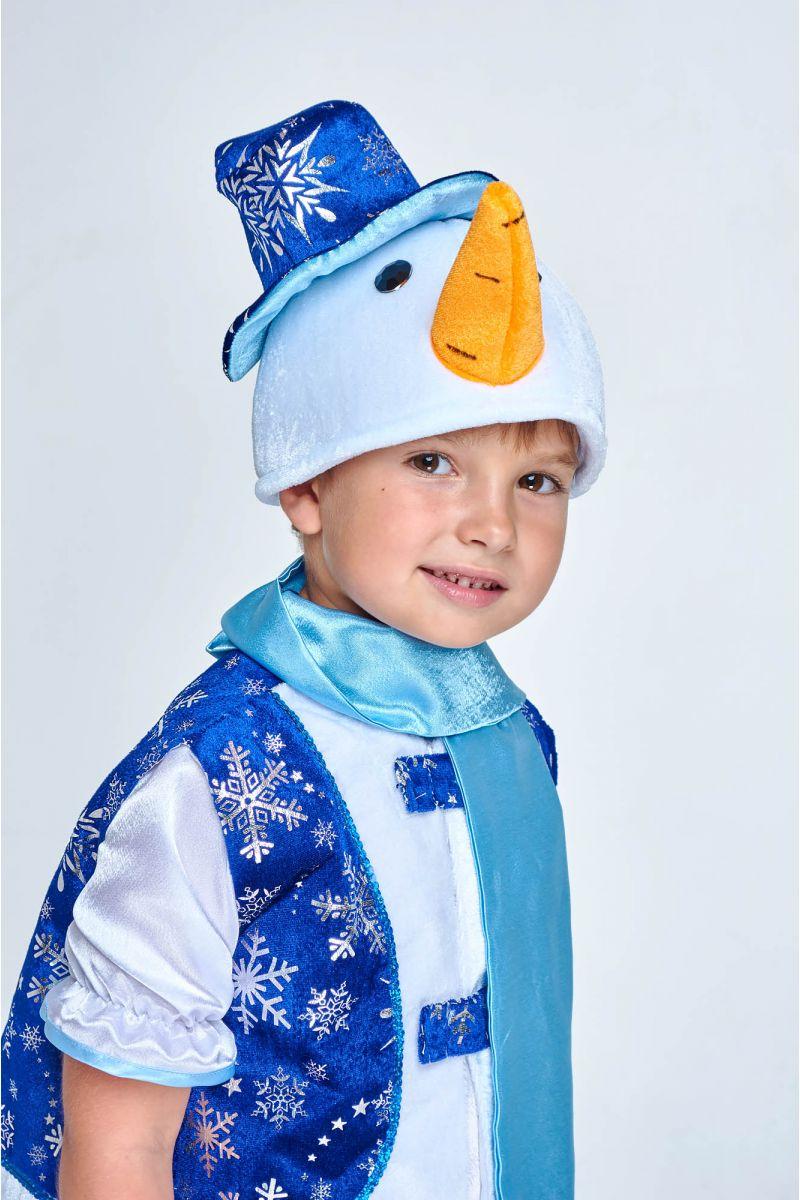 Масочка - «Снеговик в жилете» карнавальный костюм для мальчика / фото №1994