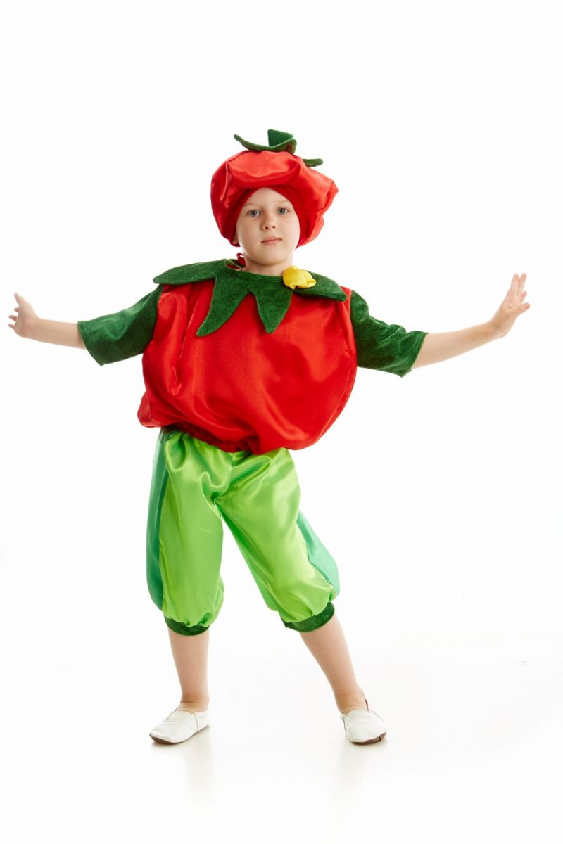 Масочка - «Помидор» карнавальный костюм для мальчика / фото №200