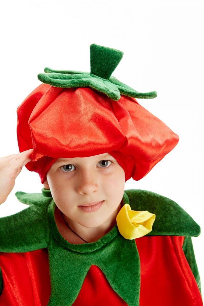 Масочка - «Помидор» карнавальный костюм для мальчика / фото №201