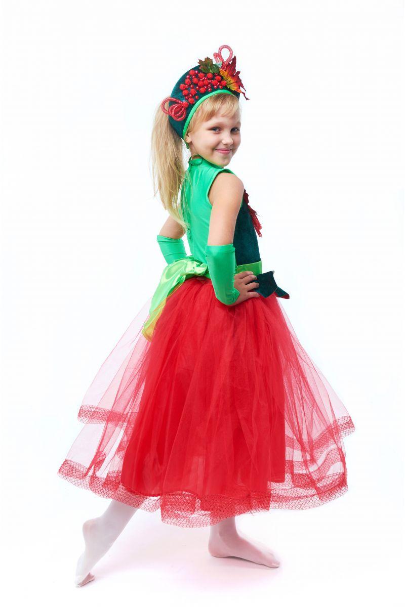 Масочка - «Калина-рябина» карнавальный костюм для девочки / фото №2016