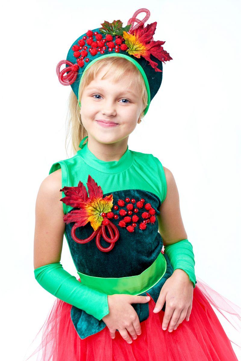 Масочка - «Калина-рябина» карнавальный костюм для девочки / фото №2017