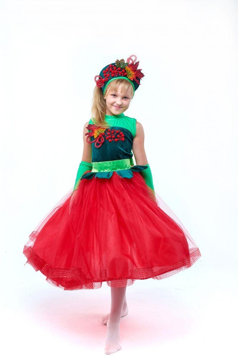 «Калина-рябина» карнавальный костюм для девочки