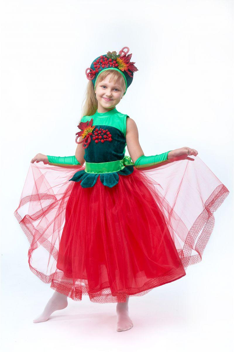 Масочка - «Калина-рябина» карнавальный костюм для девочки / фото №2023