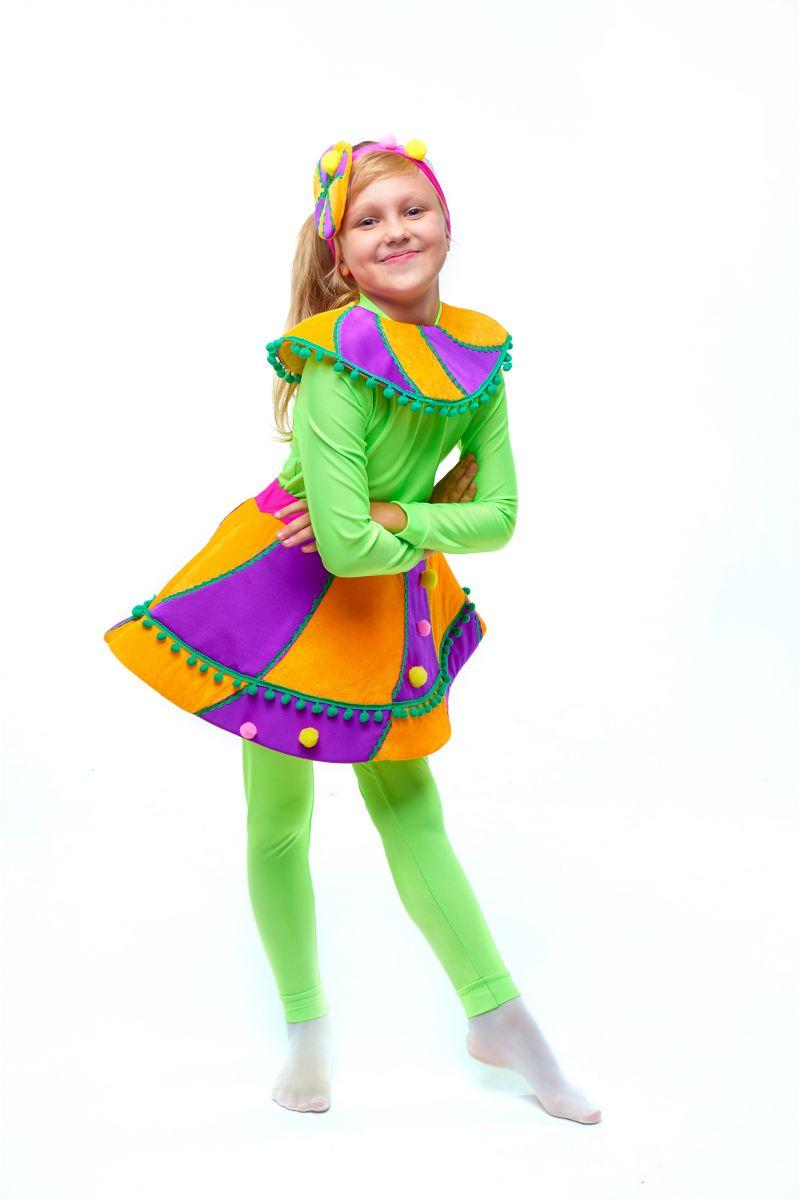 Масочка - Конфетка «Карамелька» карнавальный костюм для девочки / фото №2035