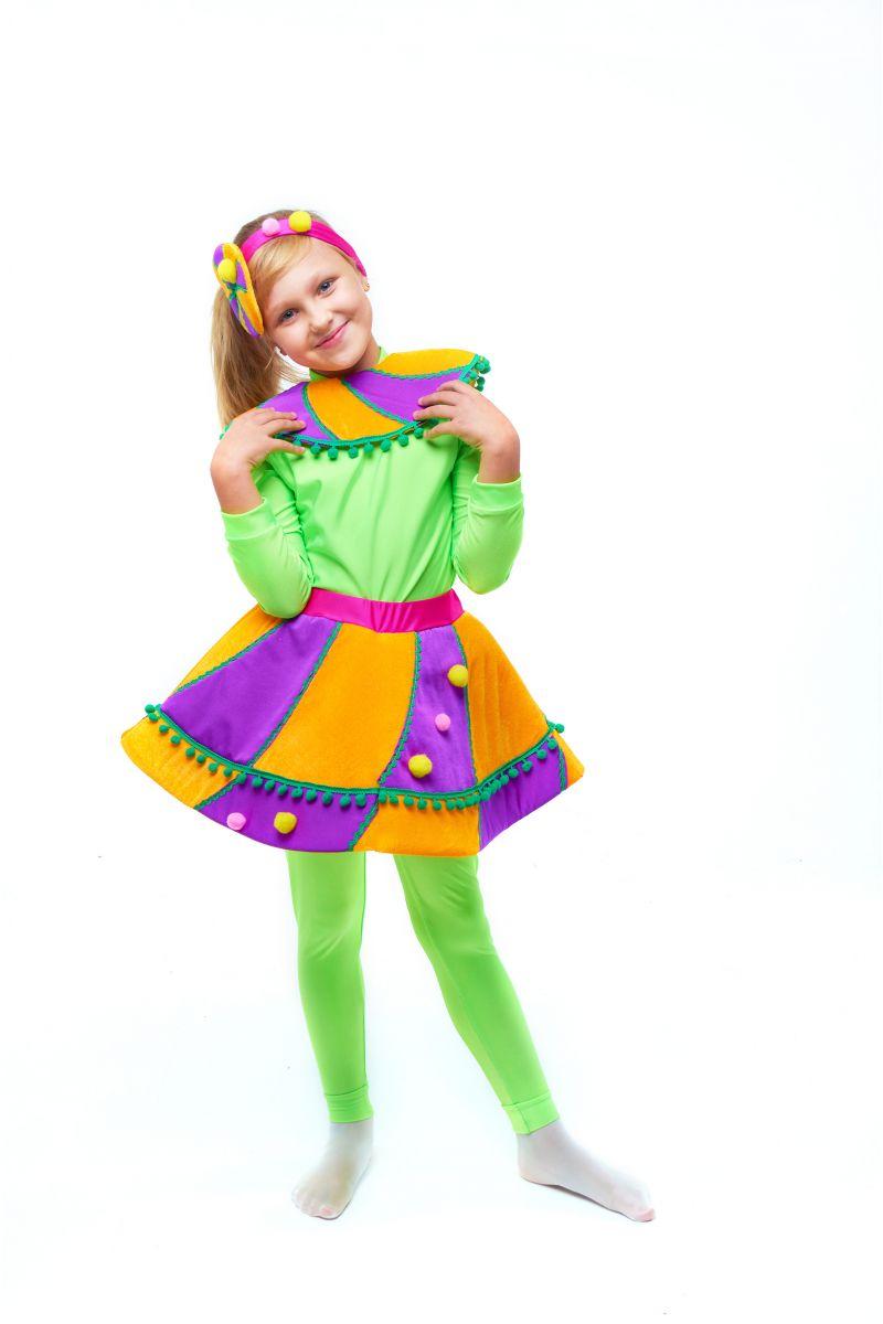 Масочка - Конфетка «Карамелька» карнавальный костюм для девочки / фото №2036