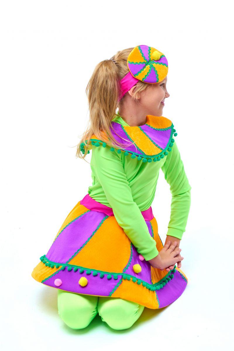 Масочка - Конфетка «Карамелька» карнавальный костюм для девочки / фото №2037