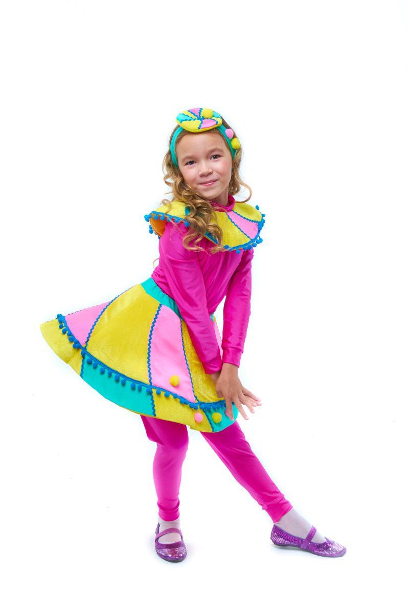 Масочка - Конфетка «Зефирка» карнавальный костюм для девочки / фото №2047