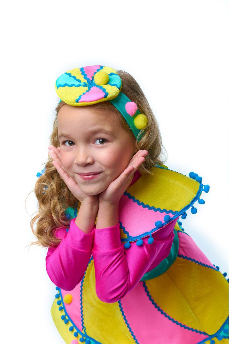 Масочка - Конфетка «Зефирка» карнавальный костюм для девочки / фото №2048