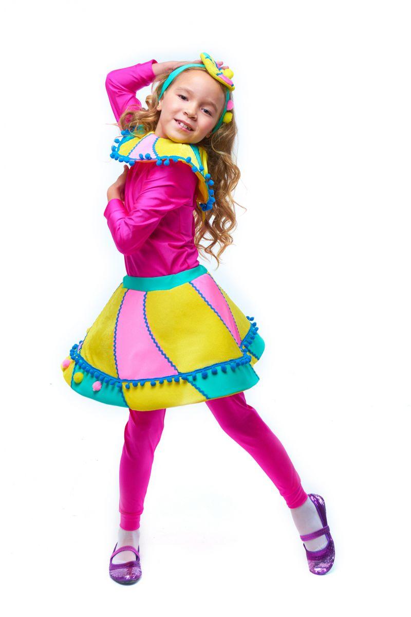 Масочка - Конфетка «Зефирка» карнавальный костюм для девочки / фото №2050