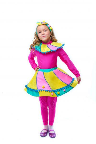 Конфетка «Зефирка» карнавальный костюм для девочки