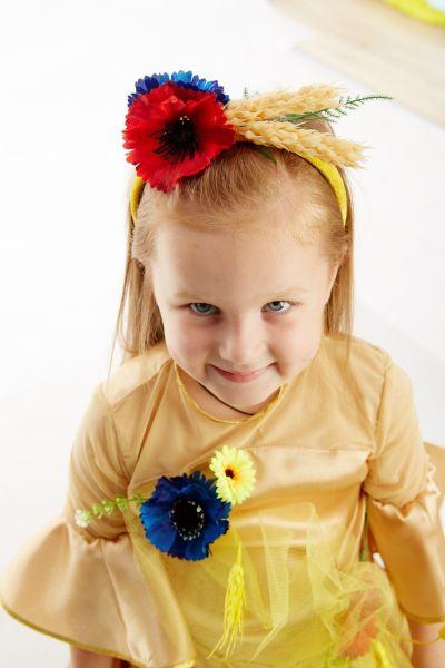 «Пшеничка» карнавальный костюм для девочки