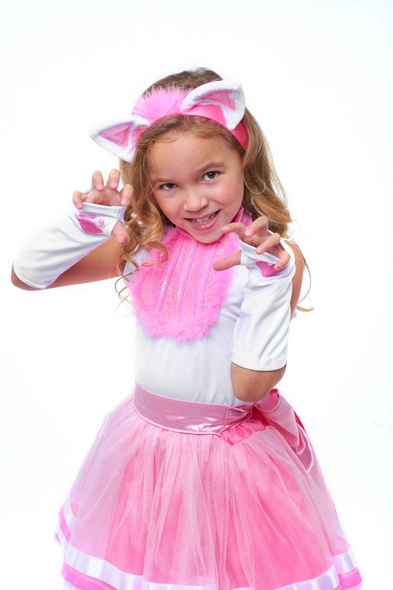 Масочка - Кошечка «Кири-Кири» карнавальный костюм для девочки / фото №2069