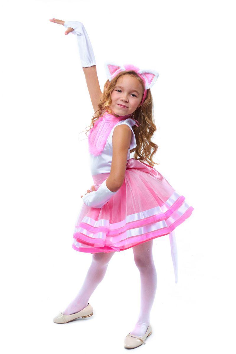 Масочка - Кошечка «Кири-Кири» карнавальный костюм для девочки / фото №2070