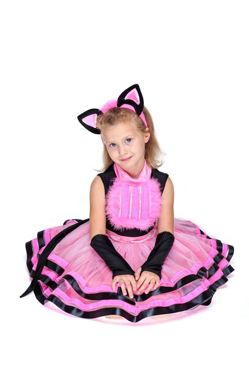 Масочка - Кошечка «Брысь» карнавальный костюм для девочки / фото №2073