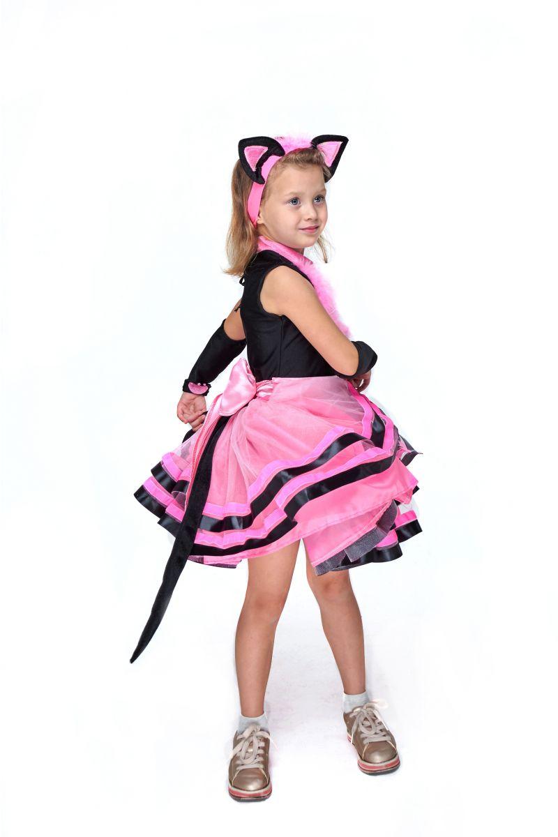 Масочка - Кошечка «Брысь» карнавальный костюм для девочки / фото №2074