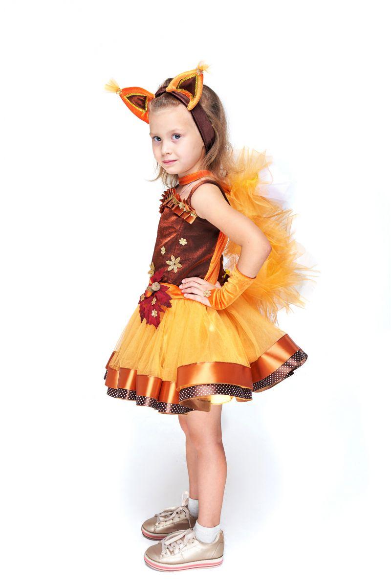 Масочка - Белочка «Затейница» карнавальный костюм для девочки / фото №2078