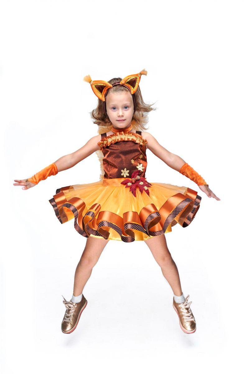 Масочка - Белочка «Затейница» карнавальный костюм для девочки / фото №2079