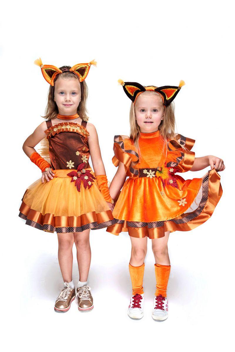 Масочка - Белочка «Затейница» карнавальный костюм для девочки / фото №2081