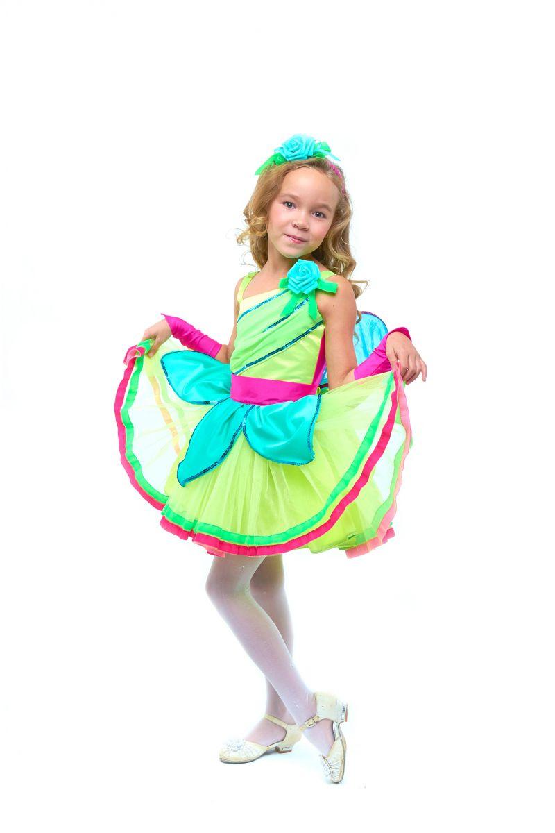 Масочка - Фея «Волшебница» карнавальный костюм для девочки / фото №2083