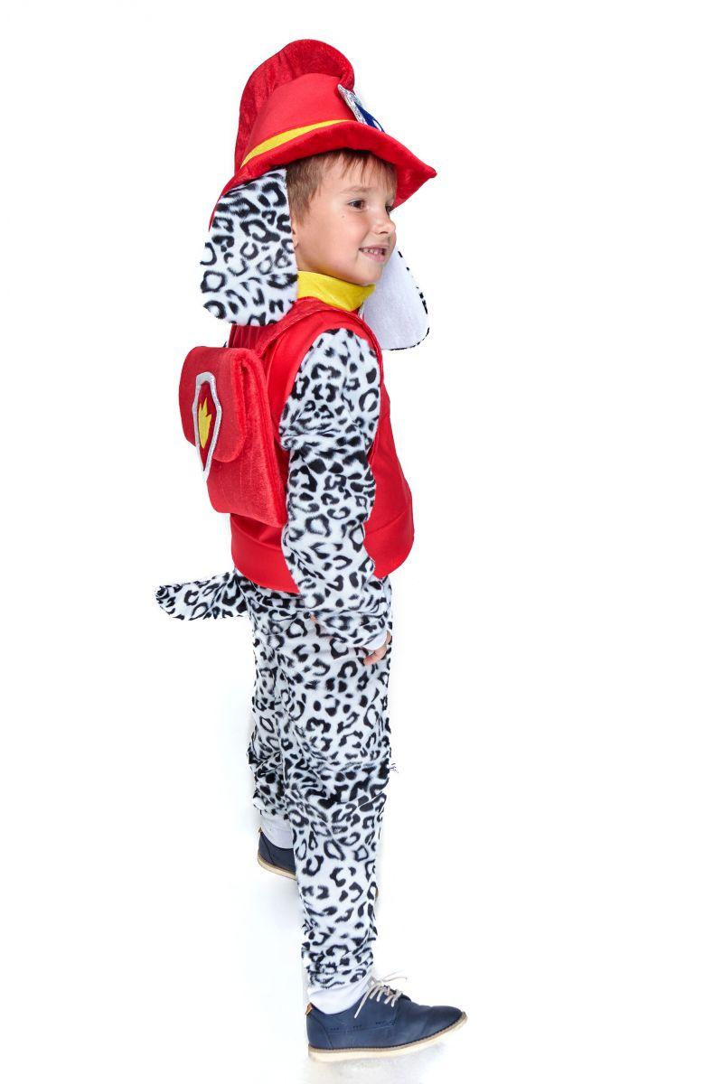Масочка - Маршал «Щенячий патруль» карнавальный костюм для мальчика / фото №2092