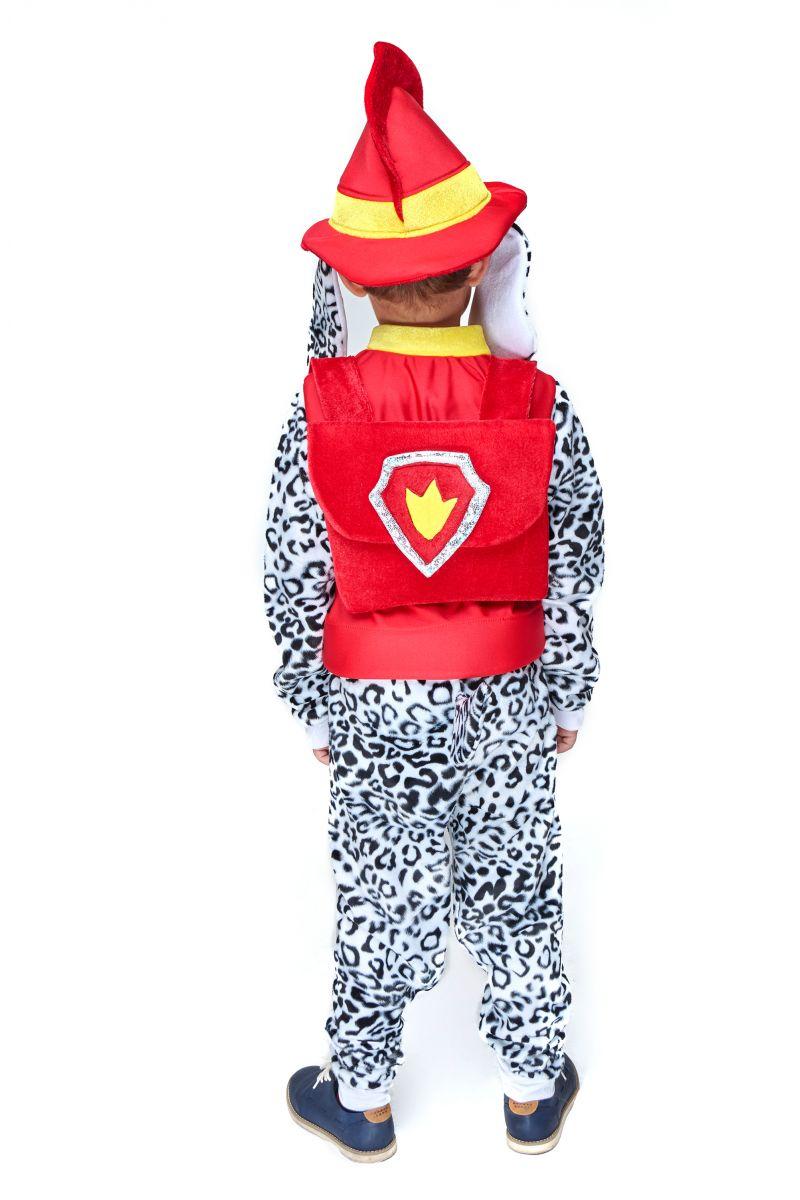 Масочка - Маршал «Щенячий патруль» карнавальный костюм для мальчика / фото №2093