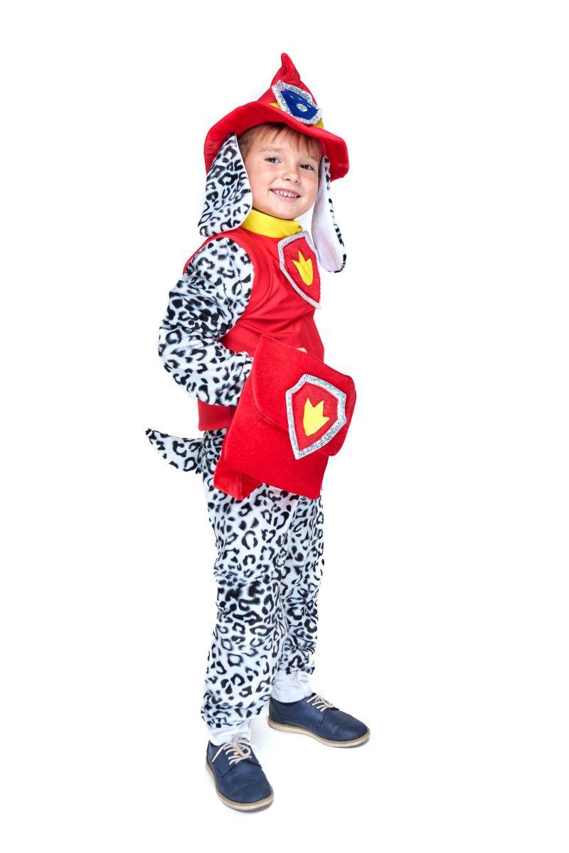 Масочка - Маршал «Щенячий патруль» карнавальный костюм для мальчика / фото №2094