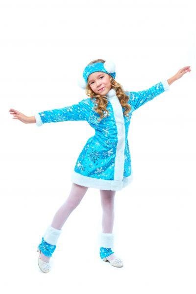 «Снегурочка» карнавальный костюм для девочки