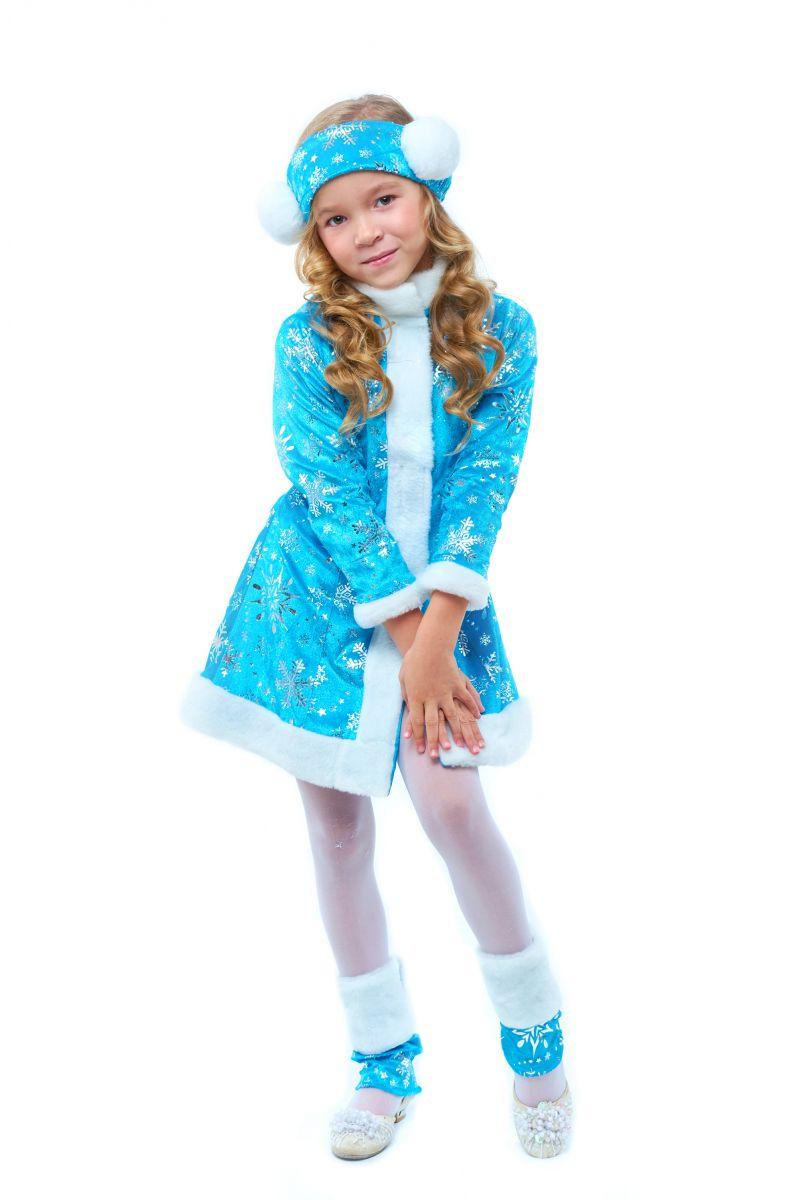 Масочка - «Снегурочка» карнавальный костюм для девочки / фото №2098