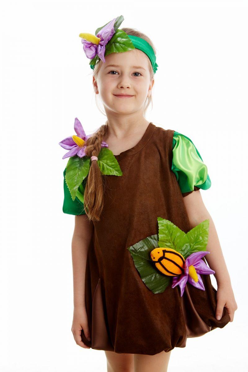 Масочка - «Картошка» карнавальный костюм для девочки / фото №210