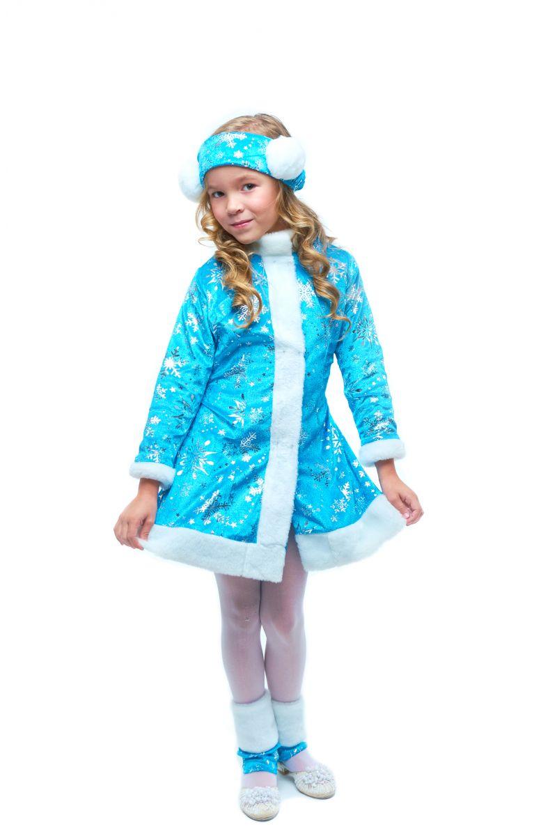 Масочка - «Снегурочка» карнавальный костюм для девочки / фото №2100