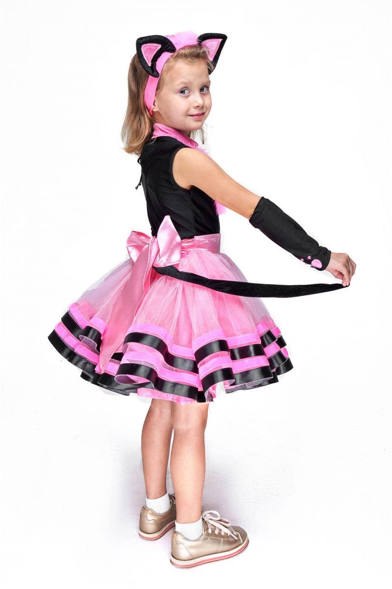 Масочка - Кошечка «Брысь» карнавальный костюм для девочки / фото №2102