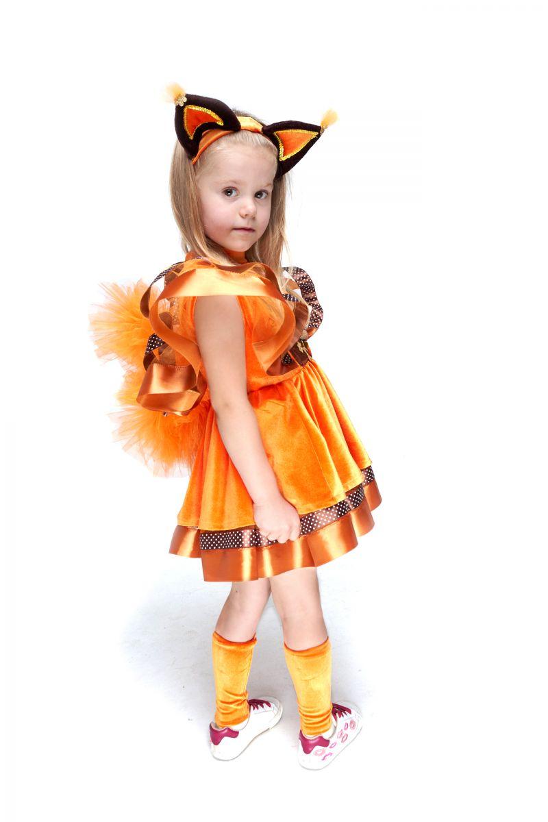 Масочка - Белочка «Забава» карнавальный костюм для девочки / фото №2104