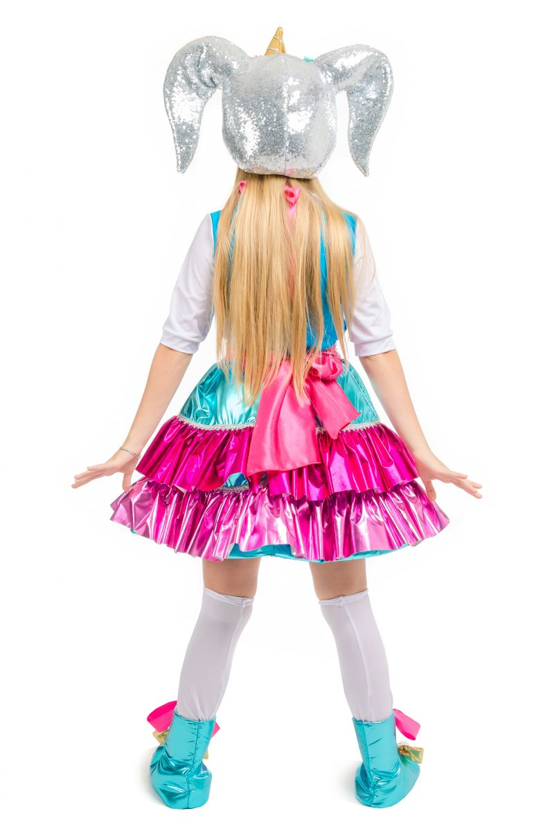 Масочка - Кукла LOL «Единорожка Unicorn» карнавальный костюм для аниматоров / фото №2107