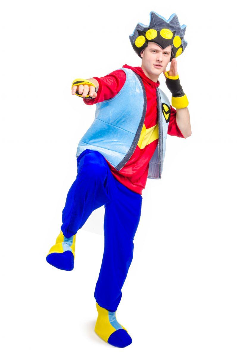 Масочка - Бейблейд «Beyblade» карнавальный костюм для аниматоров / фото №2116