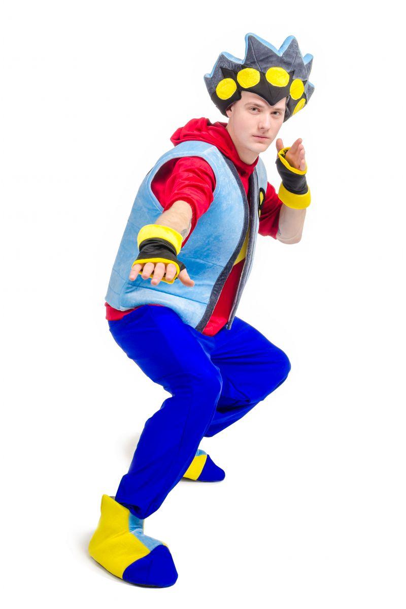 Масочка - Бейблейд «Beyblade» карнавальный костюм для аниматоров / фото №2117