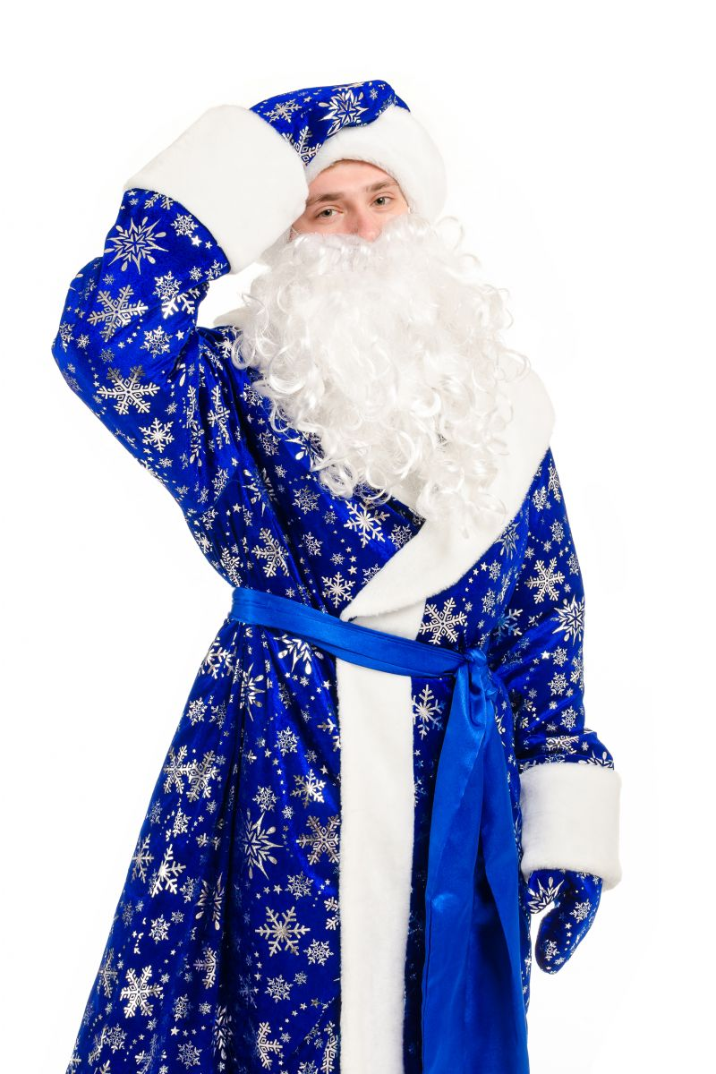 Масочка - «Дед Мороз» карнавальный костюм для аниматоров / фото №2125