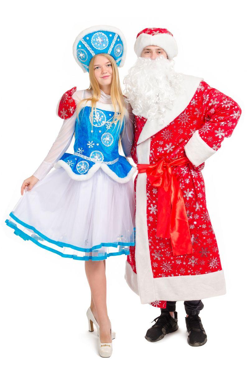 Масочка - Дедушка Мороз «Красный» карнавальный костюм для аниматоров / фото №2126