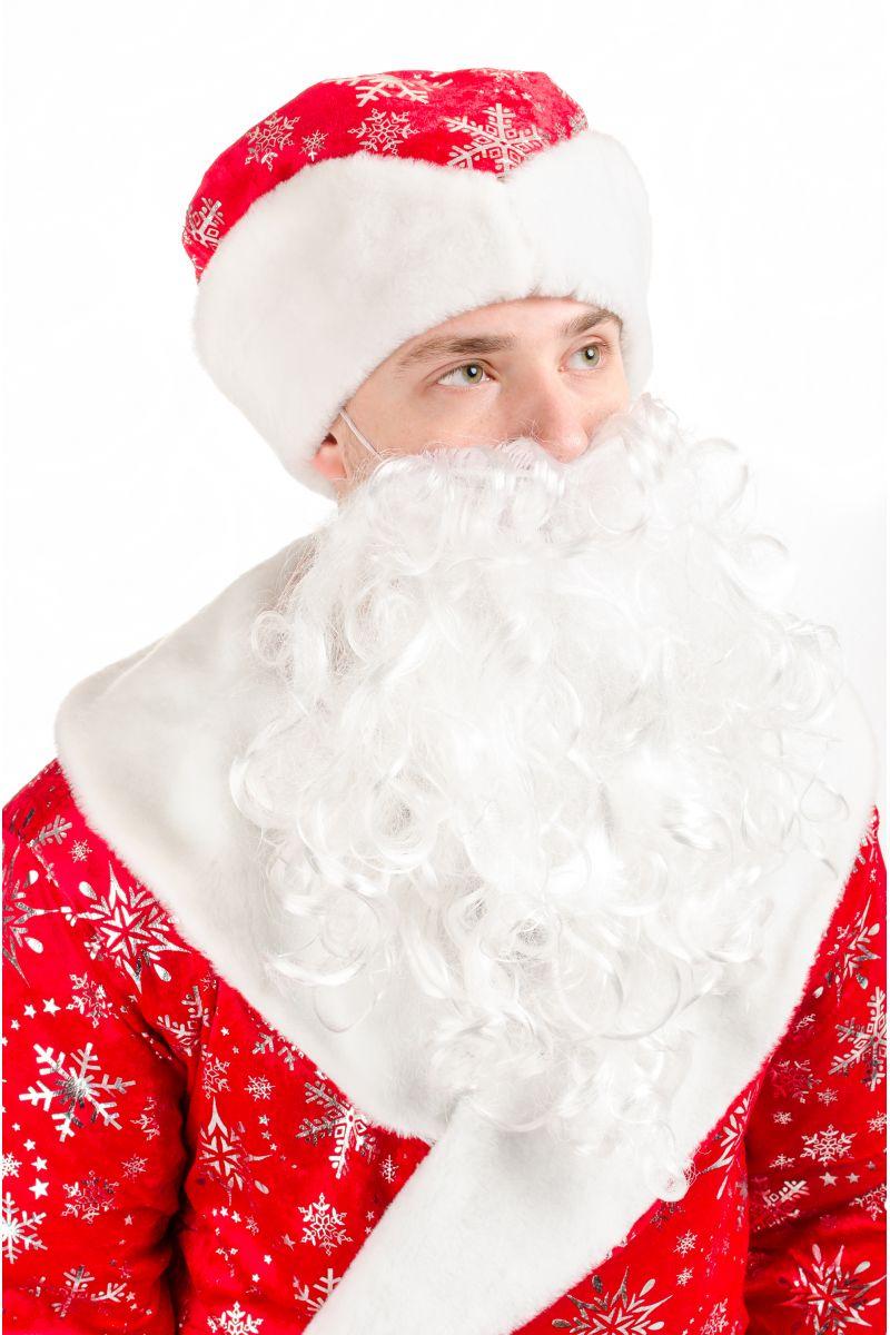Масочка - Дедушка Мороз «Красный» карнавальный костюм для аниматоров / фото №2128