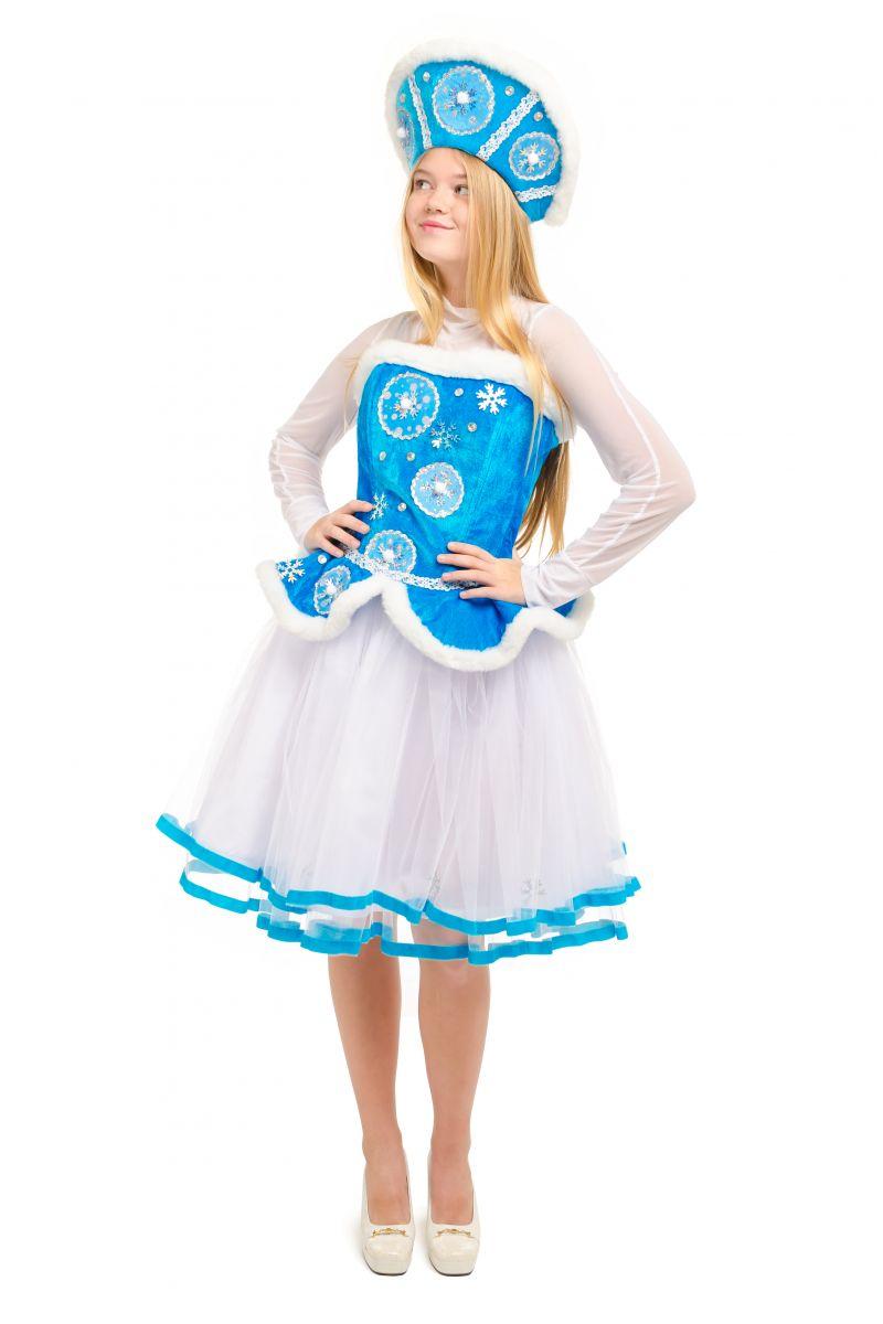 Масочка - «Снегурочка» карнавальный костюм для взрослых / фото №2135