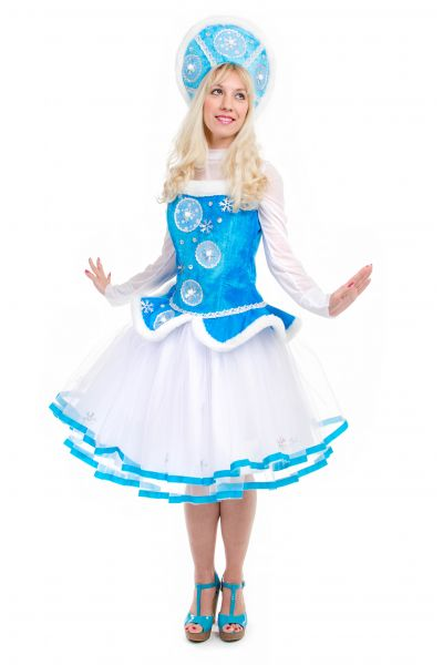 «Снегурочка» карнавальный костюм для взрослых