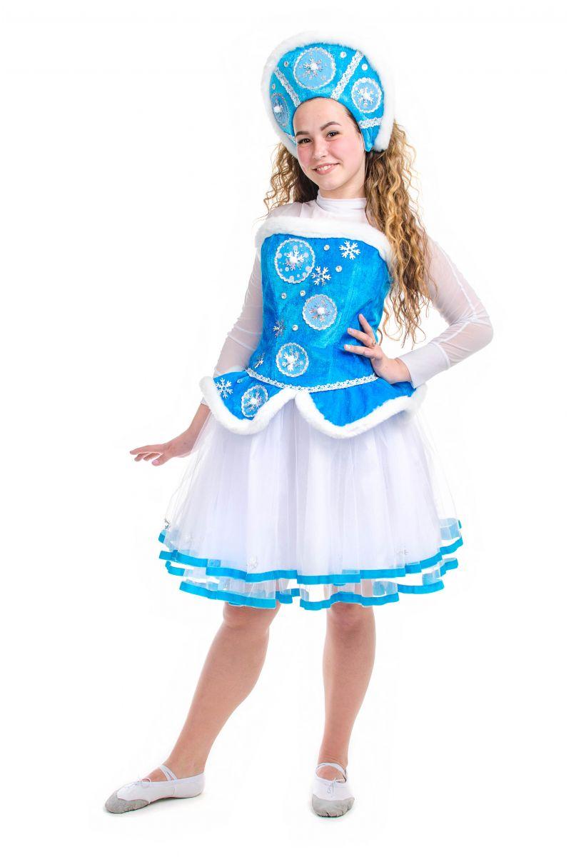 Масочка - «Снегурочка» карнавальный костюм для взрослых / фото №2137