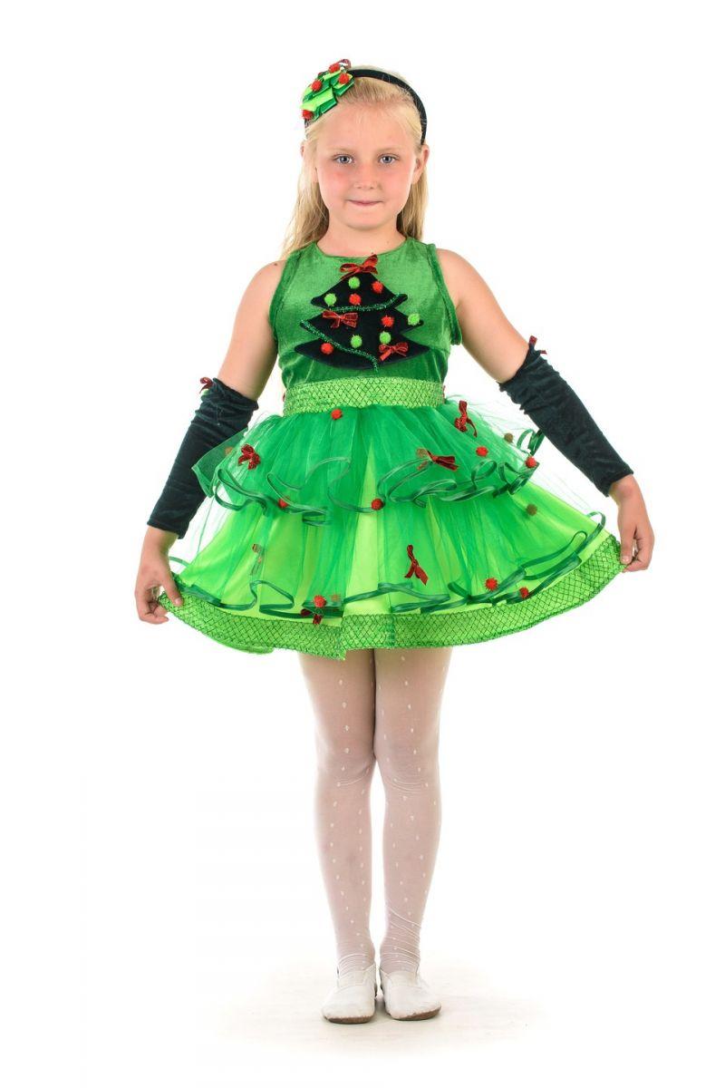 Елочка «Шик» карнавальный костюм для девочки