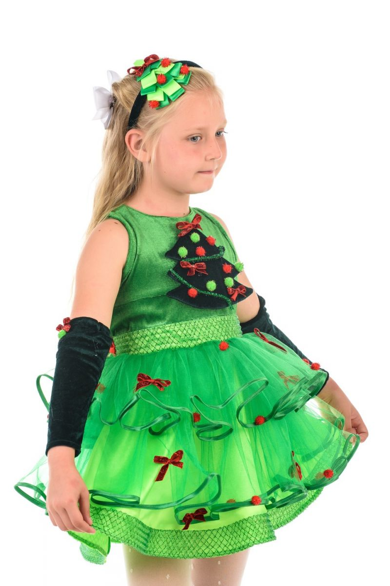 Масочка - Елочка «Шик» карнавальный костюм для девочки / фото №2142