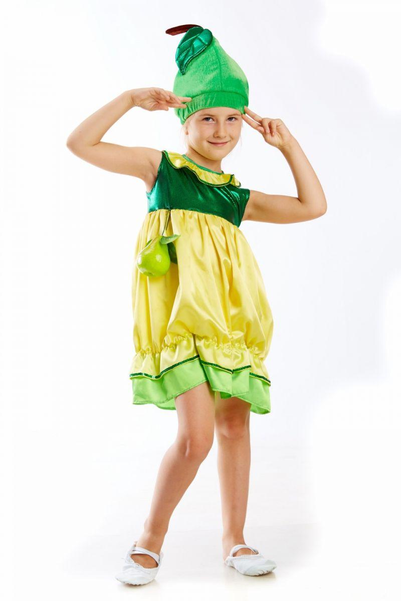 Масочка - «Груша» карнавальный костюм для девочки / фото №215